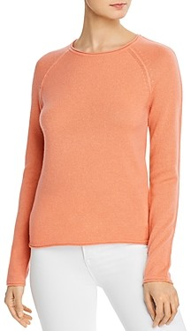 Theory Fantina Cashmere Long-Sleeve Top