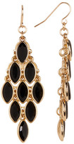 Natasha Accessories Marquis Crystal Chandelier Earrings