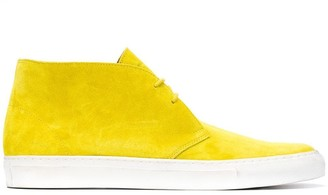 Holland & Holland High-Top Lace-Up Shoes