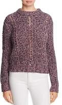 Scotch & Soda Openwork Melange Sweater
