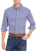 Daniel Cremieux Gingham Washed Oxford Long-Sleeve Woven Shirt