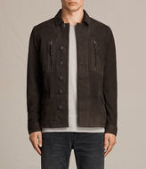 AllSaints Warner Leather Blazer