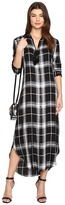 BB Dakota Coley Plaid Shirtdress
