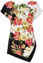 Wallis Floral Jersey Top