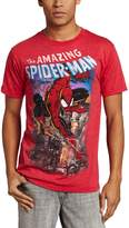 Marvel Spiderman Men's Spiderscene T-Shirt, Red