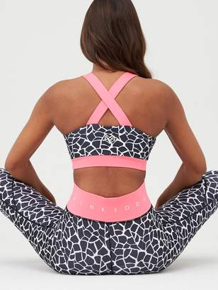 Pink Soda Deco Tight - Black/White/Pink