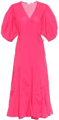Rhode Resort Fiona cotton wrap dress