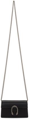 Gucci Black Super Mini Dionysus Chain Bag