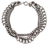 Giles & Brother Triple Strand Curb Chain Necklace