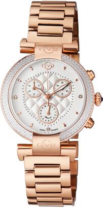 Gv2 Women's Berletta Chrono Diamond Watch