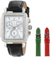 Sartego Women's SDMP195B Diamond Fashion Square Shape Chronograph