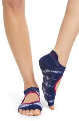 Toesox Bellarina Cosmic Half Toe Gripper Socks