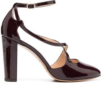 Tila March Arsine block-heel pumps