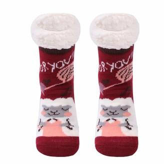 Gather Other ladys Cute Cartoon Slipper Socks