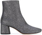 Marc Jacobs Camilla glitter boots - women - Cotton/Other fibres/Leather - 35