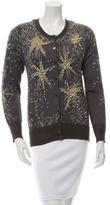 Tsumori Chisato Embellished Scoop Neck Cardigan w/ Tags