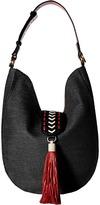 Badgley Mischka Bailey Straw Hobo Hobo Handbags