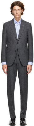 Husbands Grey Mohair Heavy Suit