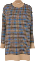 Stella McCartney midi checked dress - women - Virgin Wool - 40