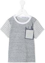 Familiar stripe detail T-shirt - kids - Cotton - 2 yrs