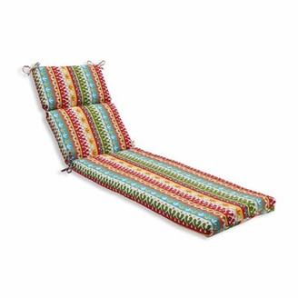 Bungalow Rose Hardison Indoor/Outdoor Chaise Lounge Cushion Color: Garden