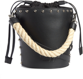 J.W.Anderson Bucket stud-embellished leather bag