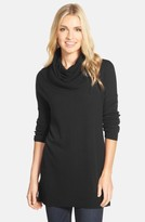 Women's Caslon Side Slit Cowl Neck Tunic