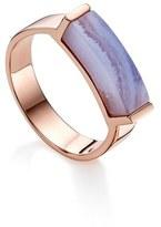 Monica Vinader Women's Linear Stone Ring
