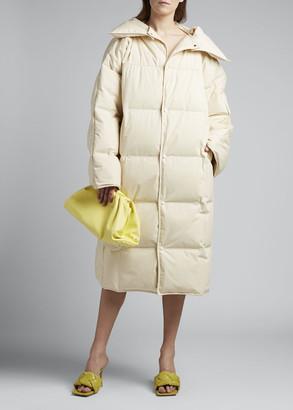Bottega Veneta Long Puffer Coat