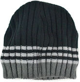 Muk Luks Ribbed Colorblock Beanie
