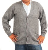CELITAS DESIGN CARDIGAN Alpaca Vneck buttons and pockets mens