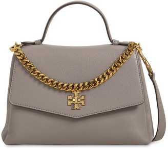 Tory Burch KIRA GRAINED & SMOOTH LEATHER BAG