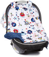 Navy Monsters Car Seat Canopy
