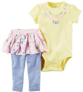 Carter's 2-Piece Bodysuit & Tutu Pant Set