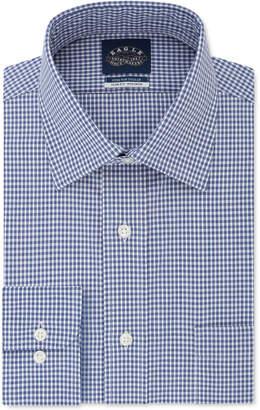 Eagle Men Slim-Fit Gingham Dress Shirt