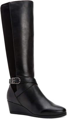 Giani Bernini Chelseyy Memory-Foam Wedge Boots, Women Shoes