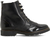 Dune Parka brogue leather ankle boots