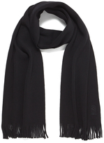 BOSS GREEN CAlbas Scarf - Black