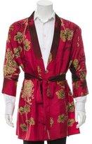 Gucci Silk Kimono Robe