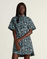 Marni Printed Flap Pocket Shirtdress