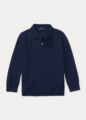 Ralph Lauren Cotton Mesh Uniform Polo Shirt