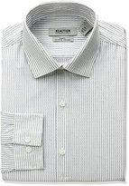 Kenneth Cole Reaction Men's Slim Fit Stripe Spread Collar Dress Shirt