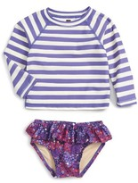 Tea Collection Infant Girl's Bells Beach Two-Piece Rashguard Swimsuit