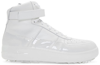 424 Off-White Dipped High-Top Sneakers