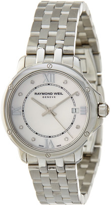 Raymond Weil Tango Silver Dial Stainless Steel Ladies Watch
