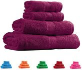 Trident Soft and Light 100% Combed Cotton 400 GSM 4-Pieces (Bath & Hand) Towel Gift Set