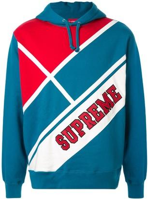 Supreme Diagonal hoodie