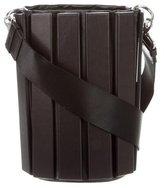 Salvatore Ferragamo Piped Leather Bucket Bag