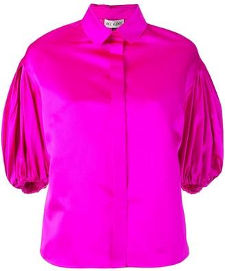 Dice Kayek draped sleeve shirt