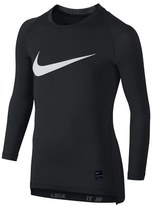 Nike 'Pro Combat Hypercool Compression HBR' Long Sleeve T-Shirt (Little Boys & Big Boys)